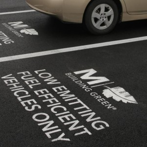 Parking Lot Stencil Services - Houston TX