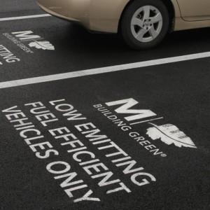Parking Lot Stencil Services - Houston TX