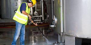 SMR Striping - Pressure Washing